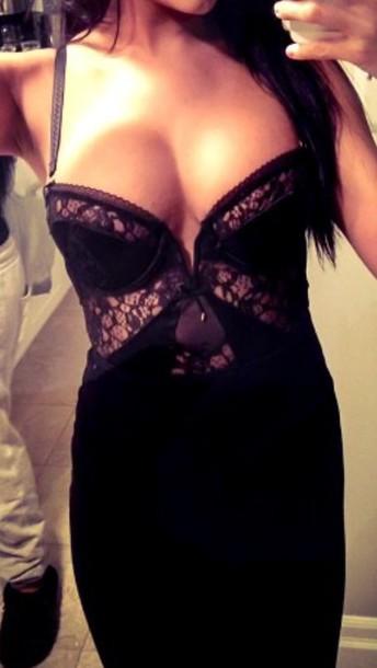 dress lace dress lingerie black dress black skirt skirt fashion style midi skirt
