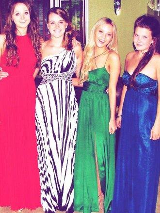 dress clothes green dress evening dress long prom dress prom dress gorgeous blonde hair