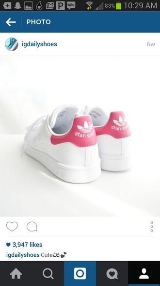 shoes hot pink dress hot pink white adidas pink and white running shoes sports bra sports shoes sportswear
