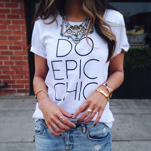 Do epic chic tshirt for women tshirts shirts by stupidfashion