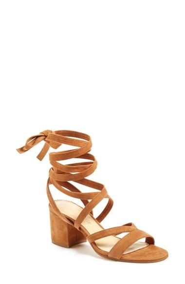 Ivanka Trump 'Ellyn' Lace-Up Sandal (Women)   Nordstrom