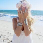 jewels,jewelry,boho jewelry,minimalist jewelry,silver jewelry,head jewels,frantic jewelry,hand jewelry,turquoise jewelry,blue,boho,boho chic,boho dress,boho swimwear,boho decor,knuckle ring,ring,ringer,silver ring,flower headband,floral,flowers,flower crown,bohemian