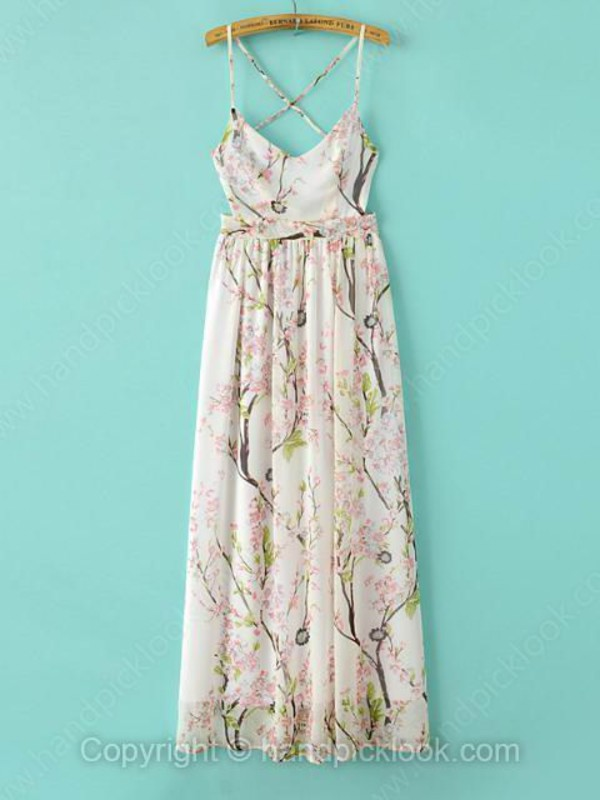 floral dress maxi dress long dress chiffon dress floral maxi dress