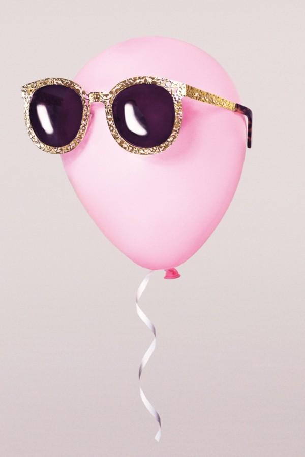 sunglasses karen miller cut-out gold karen millen black singlet