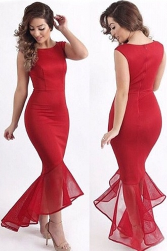dress fishtail formal evening dress cocktail dress wots-hot-right-now fishtail dress red dress black dress navy dress fishtail prom drsses sleeveless party dress sexy dress