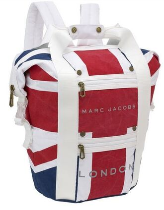 bag marc jacobs union jack union jack backpack london british flag rucksack backpack rucksack acessories school stuff marc jacobs school bags