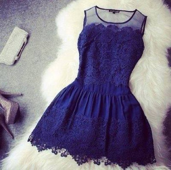 cute dress blue dress blue prom dress navy blue cute dress girly prom elegant semiformal semi -formal hipster+ swag floral winter swag swag girl
