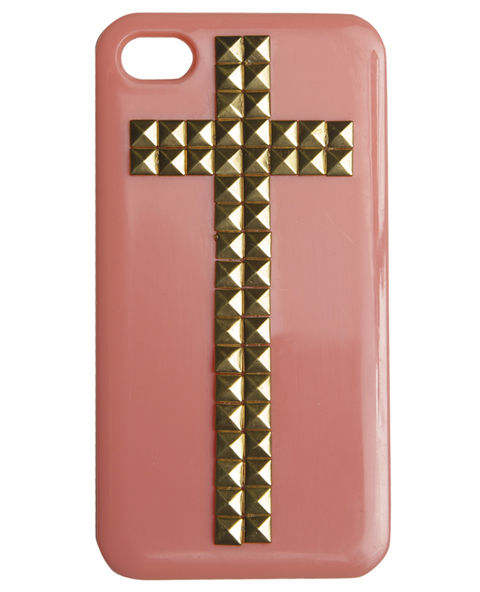 Studded Cross iPhone 4/4S Case