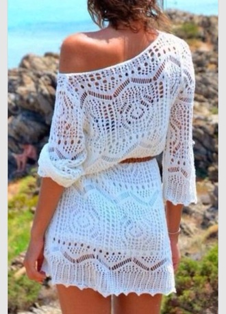 dress white dress summer dress girly