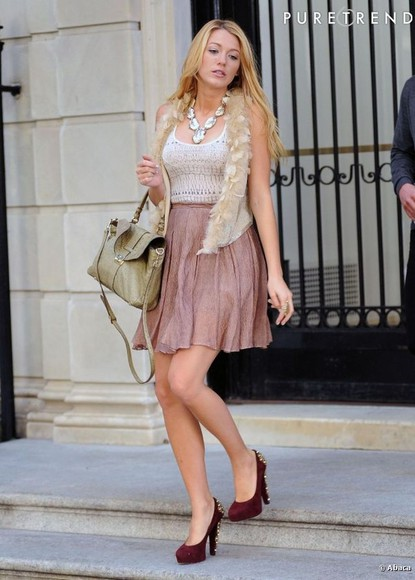 strass paillettes l shoes gold jewels sexy red gossip girl fashion gossip girl blake lively gold sequins preppy