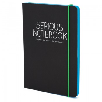 Happy Jackson A5 Serious Notebook | AlexandAlexa