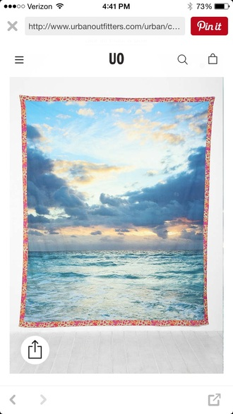 home accessory beach tapestry tapestry urban outfitters