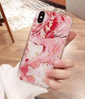 phone cover,girly,girly wishlist,iphone cover,iphone case,iphone,phone,marble,glitter