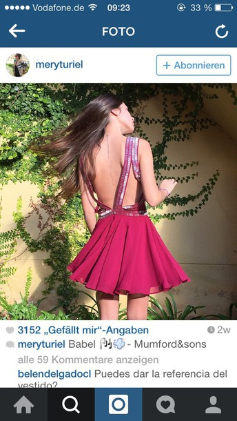 dress red dress red prom dress backless dress