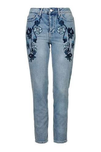 jeans denim embroidered jeans embroidered