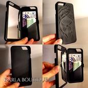 phone cover,flip case,iphone 5 case,pocket mirror