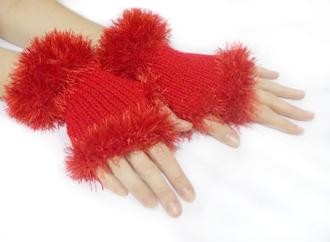 dress christmas gloves