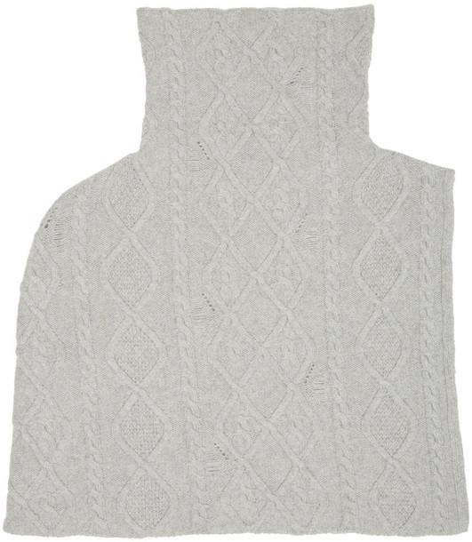 Stella McCartney scarf grey