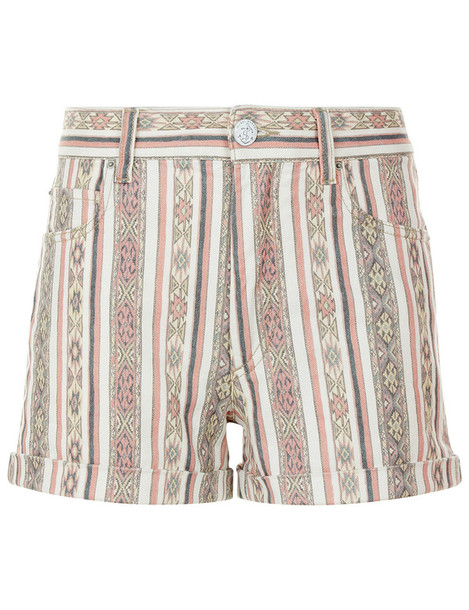 shorts denim cream