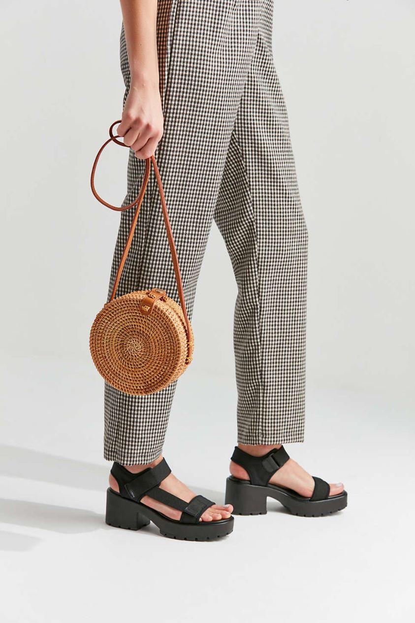 Rattan Mini Circle Bag