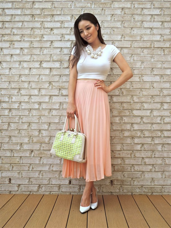 sensible stylista top jewels skirt shoes bag sunglasses