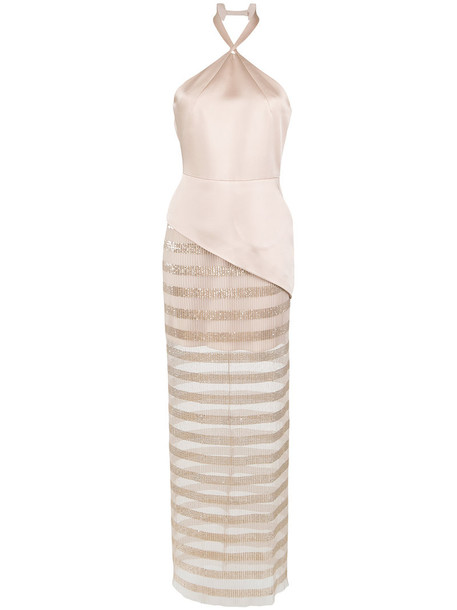 gown sheer women nude dress