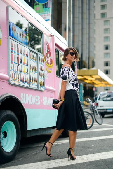 lovely pepa blogger sunglasses jewels top