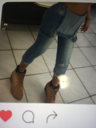 pants light blue jeans overalls denim overalls