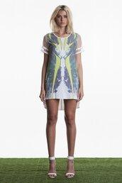 dress,highlight shift dress by  premonition,shift dress,print dress,leopard print