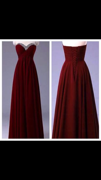 dress red prom dress long prom dress red prom dress jewels red dress