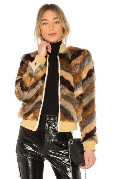 jacket faux fur jacket fur jacket fur faux fur brown