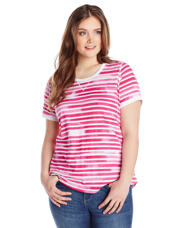 Size scoop neck top azalea multi at amazon women's clothing store: