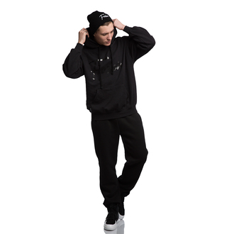 sweater fusion clothing pullover black black hoodie basic hoodie black sweater black sweatshirt black pullober streetwear streetstyle black look black style