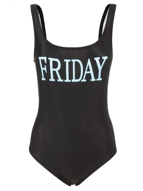 Alberta Ferretti black swimwear
