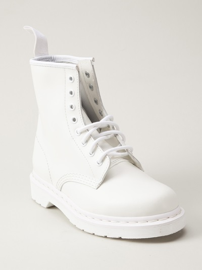 Dr. Martens '1460 Mono 8-eye' Boot - American Rag - Farfetch.com