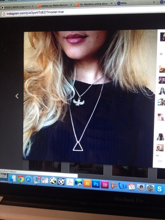 jewels brandy melville silver silver necklace