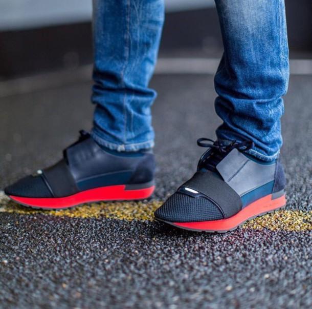 shoes, sneakers, balenciaga, streetstyle, streetwear, low ... | 610 x 603 jpeg 91kB