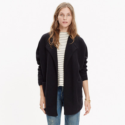 d336e1c58 Oversized Sweater-Jacket