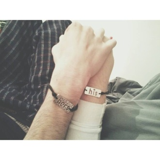 jewels bracelets leather couple bracelet matching couples