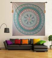 home accessory,wall hanging tapsetry,wall decor,wall tapestry,home decor items,home and lifestyle,mandala tapestry