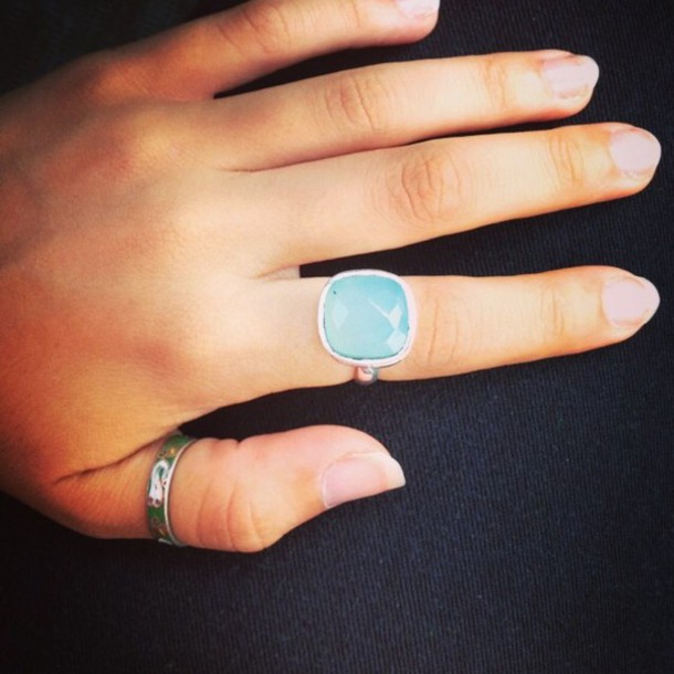 jewels ring silver ring jewelry blue ring blue wedding accessory