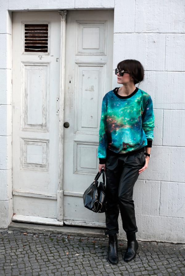 che cosa shoes bag sunglasses sweater