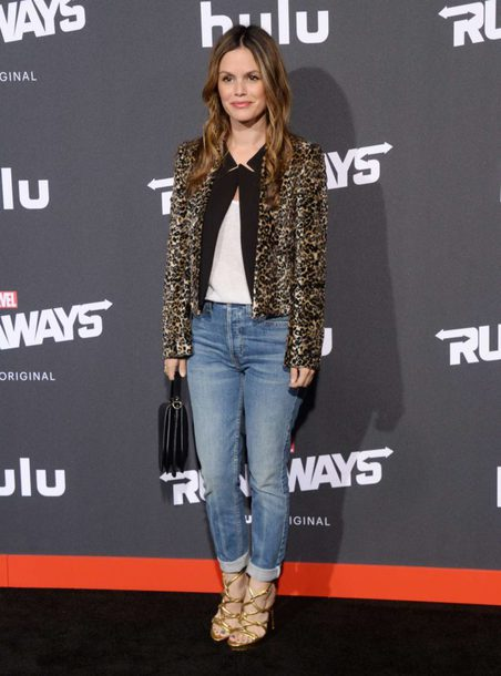 jacket jeans rachel bilson animal print leopard print shoes