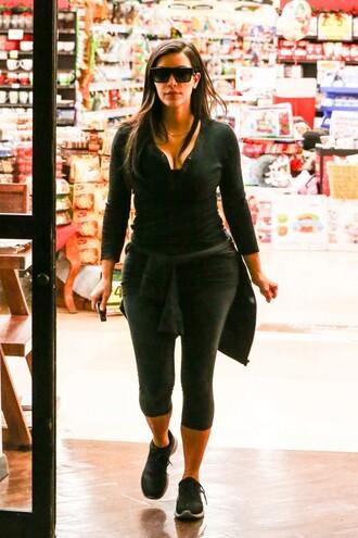 kim kardashian sportswear leggings top