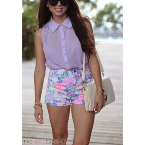cute shorts shirt