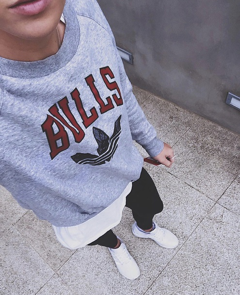 sweater adidas chicago bulls