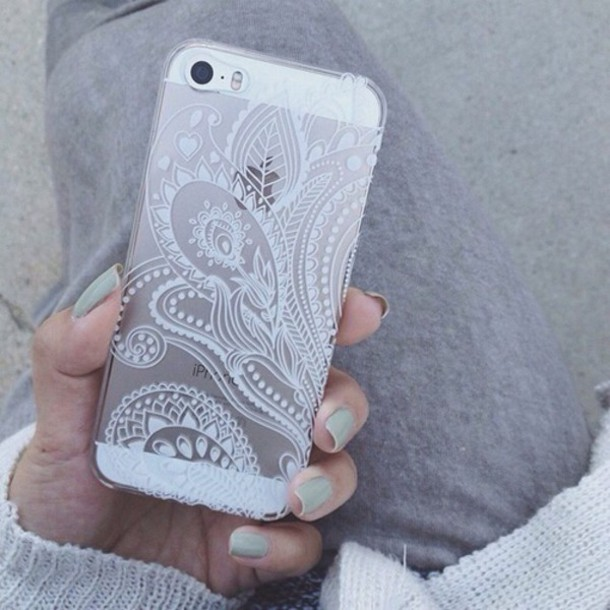 81cd8372355 phone cover iphone 5 case clear paisley tpu phone phone cover phone cover  phone cover nice