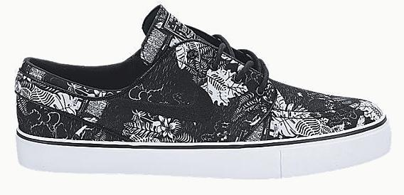 Nike Zoom Stefan Janoski (Black Floral) SHOES Mens at Martini Northfield