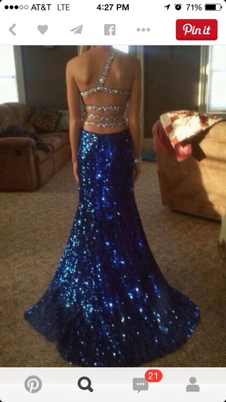 dress silver straps long dress sequins blue dress silver dress long prom dress blue sequin dress bluesequins silver sequin dress silver sequins prom dress prom