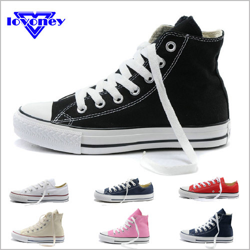 9bc4fd27ae04 Aliexpress.com   Buy 2015 Hot Sale High Low Style Classic Canvas Shoes Men  Sneakers Women Flat Sport ...